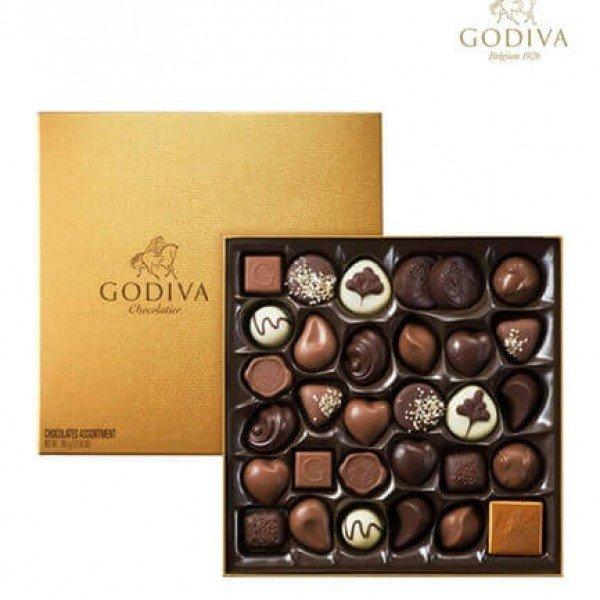 جوديفا الشوكولاته الذهبية - 24 حبة