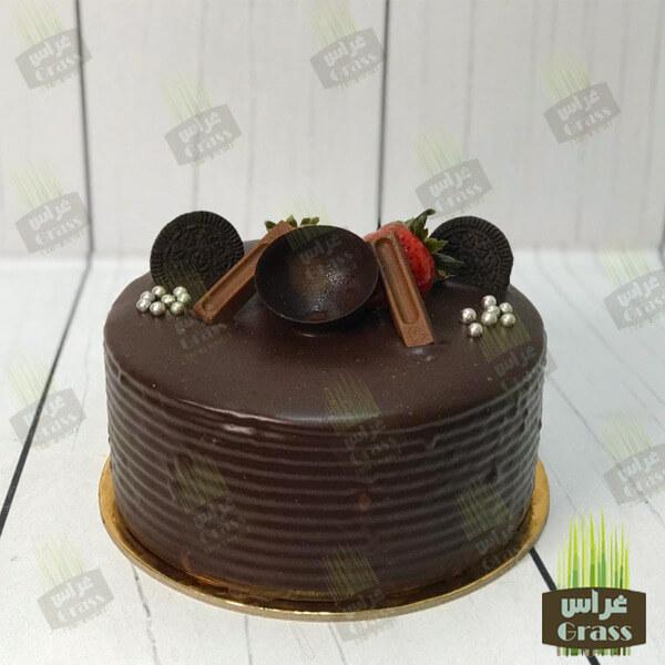 Dark Chocolate Cake - large
